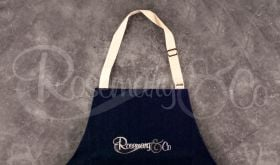 ROSEMARY & CO WORKSHOP APRON - ADULT