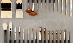 OMAR ORTIZ BRUSH SELECTION