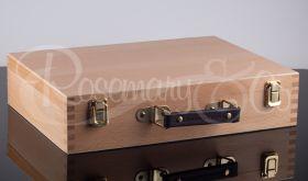 Wooden Pastel Storage Box