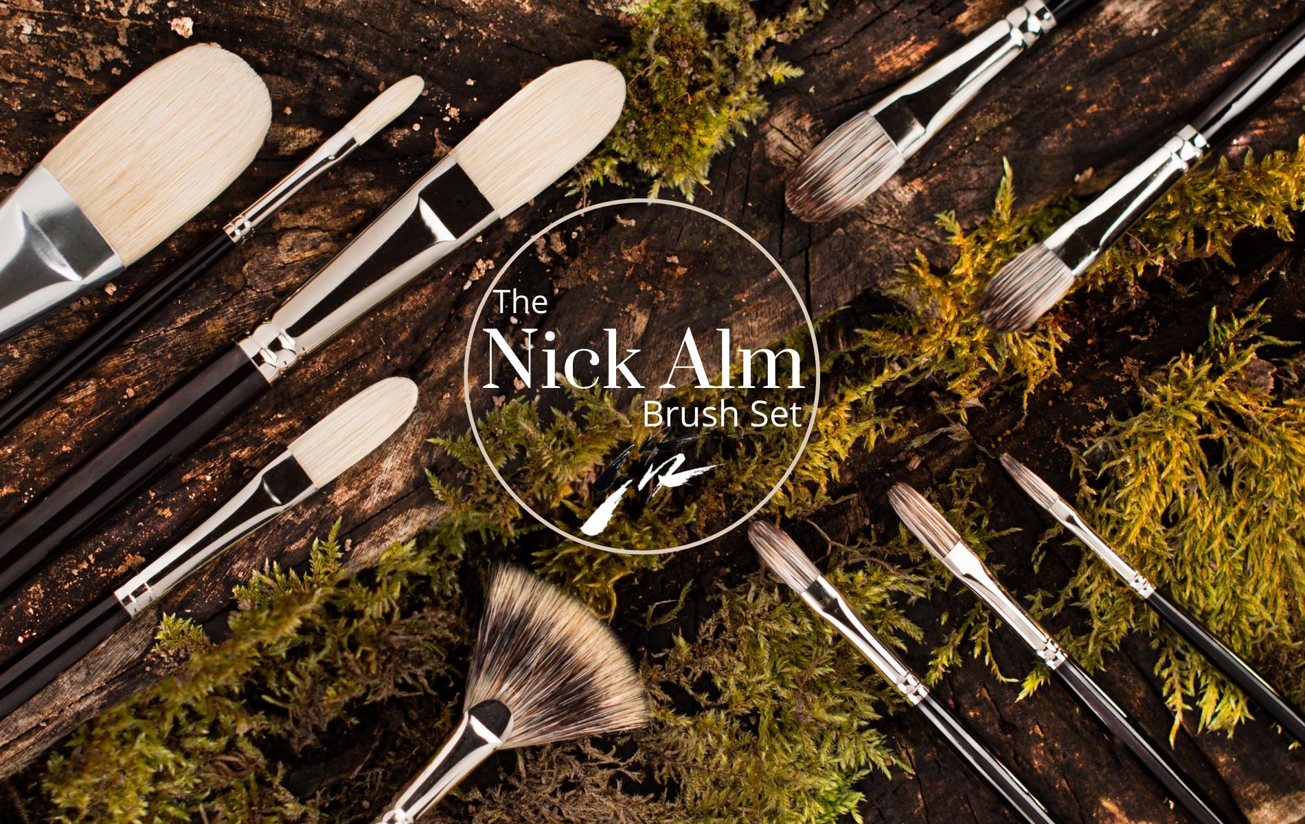 The Nick Alm Brush Set